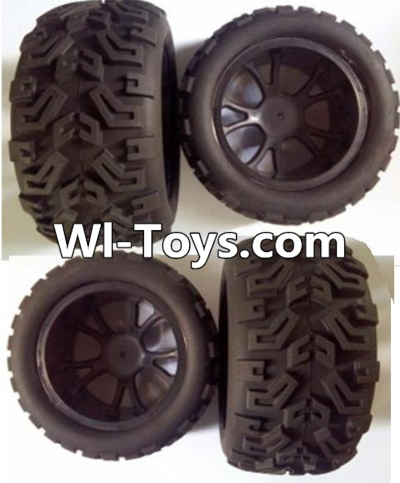 Wltoys L313 RC Car Parts-Front wheel(2pcs) & Rear wheel(2pcs),Wltoys L313 Parts