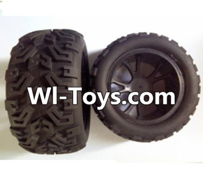 Wltoys L313 RC Car Parts-Front wheel(2pcs),Wltoys L313 Parts