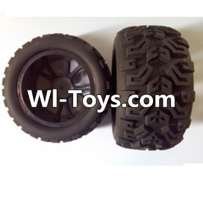 Wltoys L313 RC Car Parts-Rear wheel(2pcs),Wltoys L313 Parts