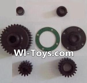 Wltoys L313 RC Car Parts-Transmission gear(Total 7pcs),Wltoys L313 Parts