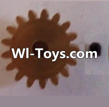 Wltoys L313 RC Car Parts-17T Motor Gear(17 Teeth)-hole diameter 3.17mm,M-0.8,Wltoys L313 Parts