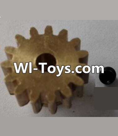 Wltoys L313 RC Car Parts-P949-26 15T Motor Gear(15 Teeth)-hole diameter 3.17mm,M-0.8,Wltoys L313 Parts