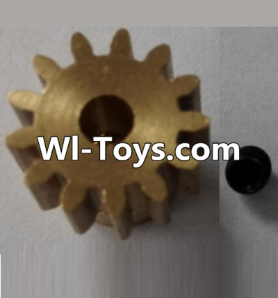 Wltoys L313 RC Car Parts-P949-27 13T Motor Gear(13 Teeth)-hole diameter 3.17mm,M-0.8,Wltoys L313 Parts
