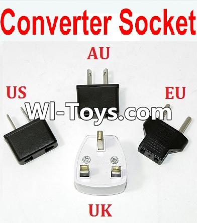 Wltoys L313 RC Car Parts-Standard Adapter Universal Converter Socket(You can shoose AU,US,EU,UK Version),Wltoys L313 Parts