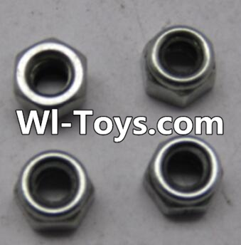 Wltoys L313 RC Car Parts-L959-65 M4 lock nut(4pcs),Wltoys L313 Parts