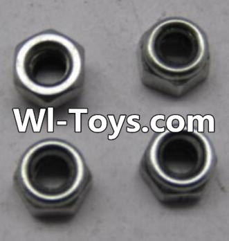 Wltoys L313 RC Car Parts-K949-108 M2.5 lock nut(4pcs),Wltoys L313 Parts