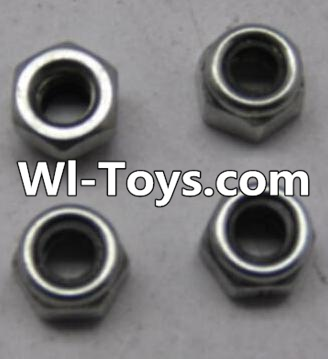 Wltoys L313 RC Car Parts-A929-95 M3 Lock nut(4pcs),Wltoys L313 Parts
