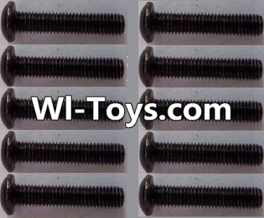 Wltoys L313 RC Car Parts-A929-72 pan head Hexagon head screws Parts(10pcs)-M3x16TMHO,Wltoys L313 Parts