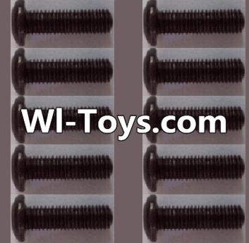 Wltoys L313 RC Car Parts-A929-74 pan head Hexagon head screws Parts(10pcs)-M3x12TMHO,Wltoys L313 Parts