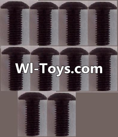 Wltoys L313 RC Car Parts-A929-81 pan head Hexagon head screws Parts(10pcs)-M3x8TMHO,Wltoys L313 Parts