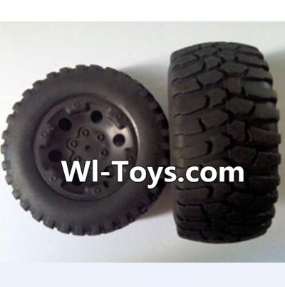 Wltoys L323 RC Car Parts-Front wheel(2pcs),Wltoys L323 Parts