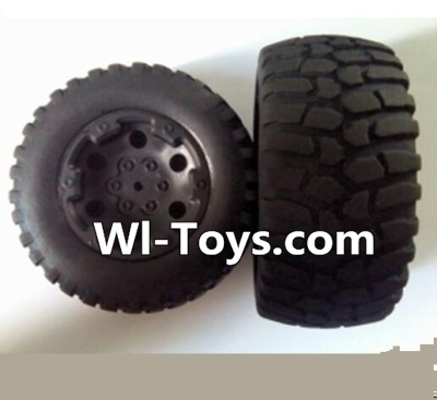 Wltoys L323 RC Car Parts-Rear wheel(2pcs),Wltoys L323 Parts