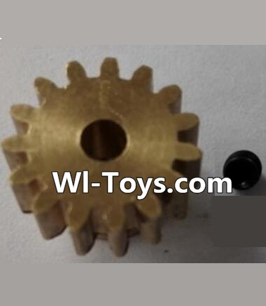 Wltoys L323 RC Car Parts-P949-26 15T Motor Gear(15 Teeth)-hole diameter 3.17mm,M-0.8,Wltoys L323 Parts