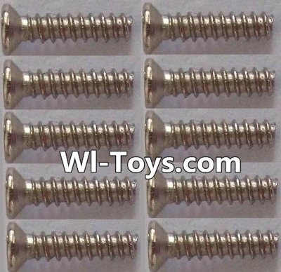 Wltoys L323 RC Car Parts-Countersunk self tapping screws Parts(10pcs)-1.7x8KB,Wltoys L323 Parts