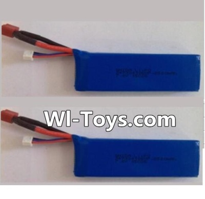 Wltoys L323 RC Car Parts-7.4v 2500mah 25c Battery(2pcs),Wltoys L323 Parts