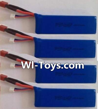 Wltoys L323 RC Car Parts-7.4v 2500mah 25c Battery(4pcs),Wltoys L323 Parts