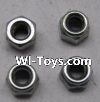 Wltoys L323 RC Car Parts-L959-65 M4 lock nut(4pcs),Wltoys L323 Parts