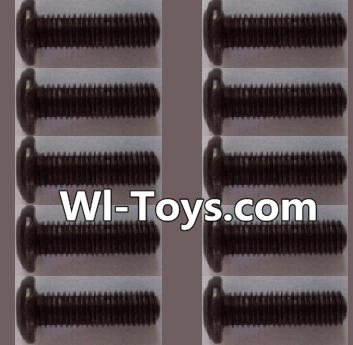 Wltoys L323 RC Car Parts-A929-74 pan head Hexagon head screws Parts(10pcs)-M3x12TMHO,Wltoys L323 Parts