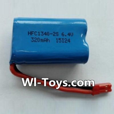 Wltoys L333 Car Parts-Battery Parts-6.4V Lithium-iron battery Parts-(1pcs),Wltoys L333 Parts