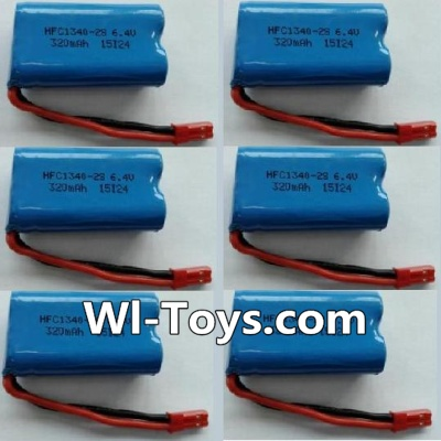 Wltoys L333 Car Parts-Battery Parts-6.4V Lithium-iron battery Parts-(6pcs),Wltoys L333 Parts