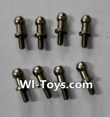Wltoys L333 Car Parts-inner hexagon Ball head screws Parts(8pcs)-3.5×M2.0×10.5,Wltoys L333 Parts