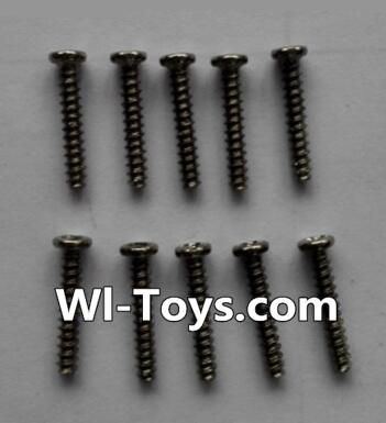 Wltoys L333 Car Parts-Round head self-tapping screws Parts(10pcs)-M2×12,Wltoys L333 Parts