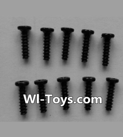 Wltoys L333 Car Parts-Round head self-tapping screws Parts(10pcs)-M2X8,Wltoys L333 Parts