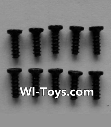 Wltoys L333 Car Parts-Round head self-tapping screws Parts(10pcs)-M2X6,Wltoys L333 Parts