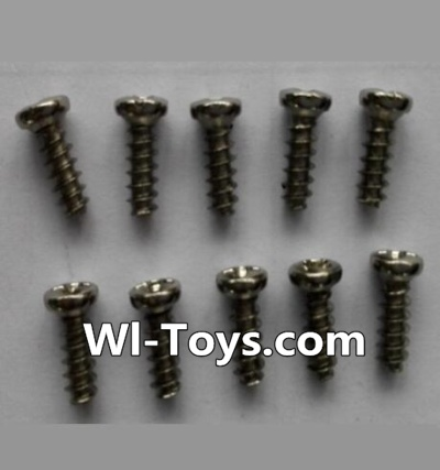 Wltoys L333 Car Parts-Round head self-tapping screws Parts(10pcs)-M3X8,Wltoys L333 Parts