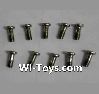 Wltoys L333 Car Parts-Round Head Machine Screw(10pcs)-M2X6,Wltoys L333 Parts