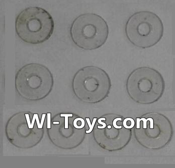 Wltoys L333 Car Parts-PVC gaskets(10pcs)-5.0X1.8X0.3,Wltoys L333 Parts