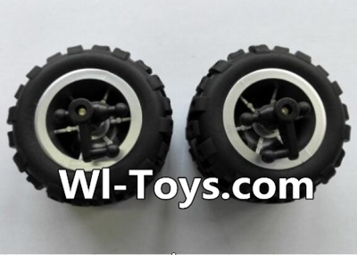 Wltoys L343 RC Car Parts-Front wheel unit-(2pcs),Wltoys L343 Parts