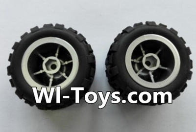 Wltoys L343 RC Car Parts-Rear wheel unit-(2pcs),Wltoys L343 Parts
