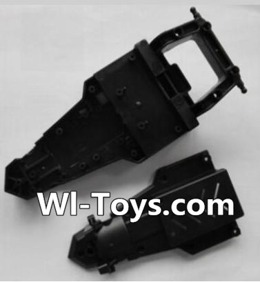Wltoys L343 RC Car Parts-Car body frame,Wltoys L343 Parts