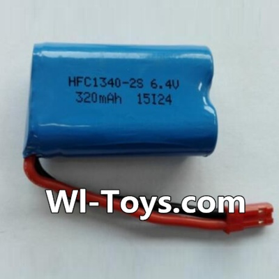 Wltoys L343 RC Car Battery Parts-6.4V Lithium-iron battery Parts-(1pcs),Wltoys L343 Parts