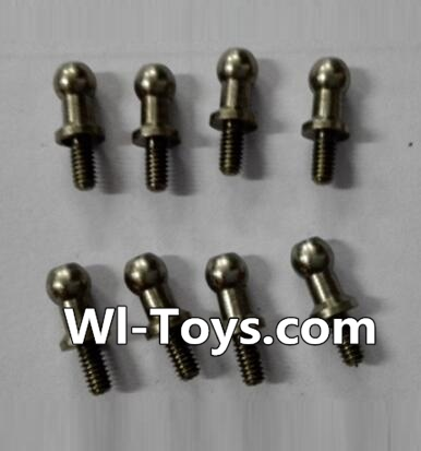 Wltoys L343 RC Car Parts-inner hexagon Ball head screws Parts(8pcs)-3.5×M2.0×10.5,Wltoys L343 Parts