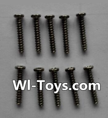 Wltoys L343 RC Car Parts-Round head self-tapping screws Parts(10pcs)-M2×12,Wltoys L343 Parts
