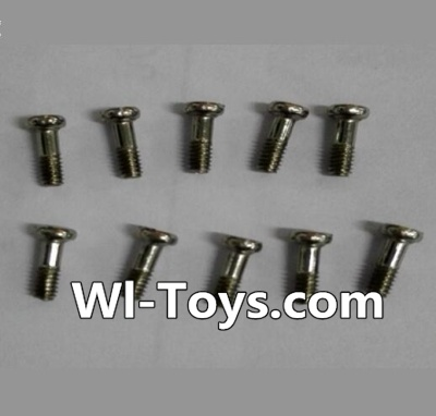 Wltoys L343 RC Car Parts-Round Head Machine Screw(10pcs)-M2X6,Wltoys L343 Parts