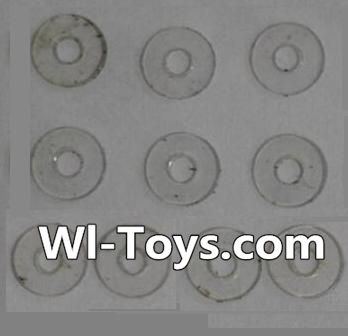 Wltoys L343 RC Car Parts-PVC gaskets(10pcs)-5.0X1.8X0.3,Wltoys L343 Parts
