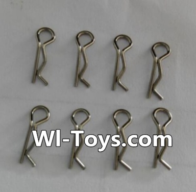 Wltoys L343 RC Car Parts-K989-11 R-shape Pin Parts-(8pcs),Wltoys L343 Parts