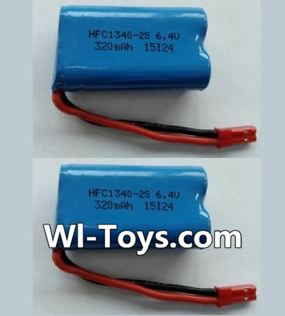 Wltoys L353 RC Car Battery Parts-6.4V Lithium-iron battery-(2pcs),Wltoys L353 Parts