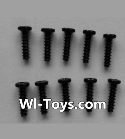 Wltoys L353 RC Car Parts-Round head self-tapping screws Parts(10pcs)-M2X8,Wltoys L353 Parts