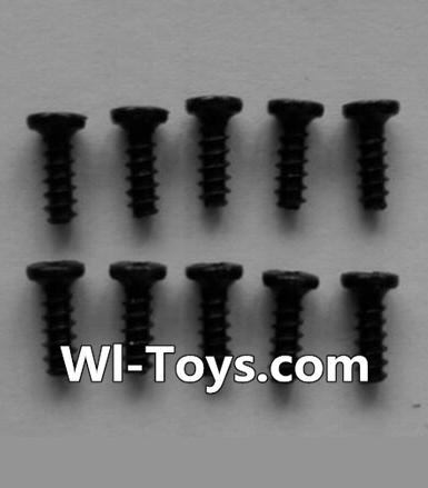 Wltoys L353 RC Car Parts-Round head self-tapping screws Parts(10pcs)-M2X6,Wltoys L353 Parts