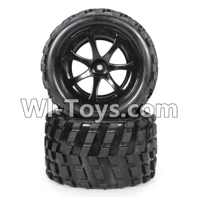 Wltoys L979 L222 Car Parts-RC Buggy Rear Tire Parts-2pcs,Wltoys L979 L222 Parts