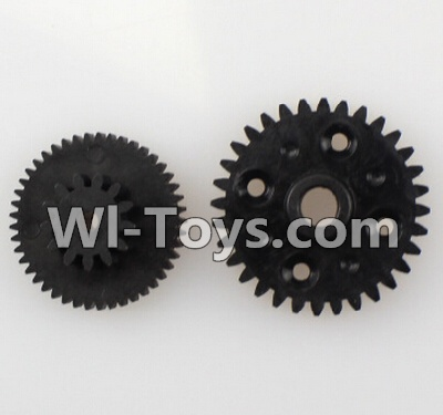 Wltoys L979 L222 Car Parts-Rear gear box Reducers,Speed Reduction Gear,Wltoys L979 L222 Parts