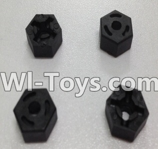 Wltoys L979 L222 Car Parts-Hexagon Wheel Seat Parts-4pcs,Wltoys L979 L222 Parts