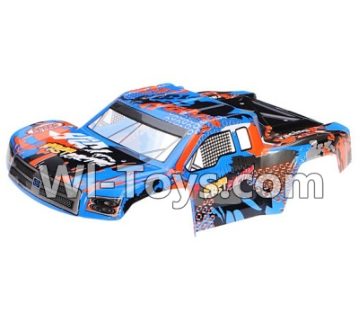 Wltoys L979 L222 Car Parts-Body Shell Cover Parts,Car shell-Blue,Wltoys L979 L222 Parts
