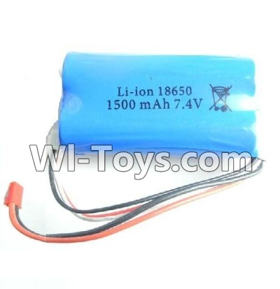 Wltoys L979 Upgrade Battery-Upgrade Wltoys L979 Battery 1500mAh 7.4v Red JST Plug Battery(Can only be Used for L979)