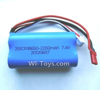 Wltoys L979 Upgrade Wltoys L96 Battery 2200mAh 7.4v Red JST Plug-Battery(Can only be Used for L979)