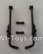 Wltoys L979 L222 Car Parts-Rear connecting frame Parts-2pcs,Wltoys L979 L222 Parts